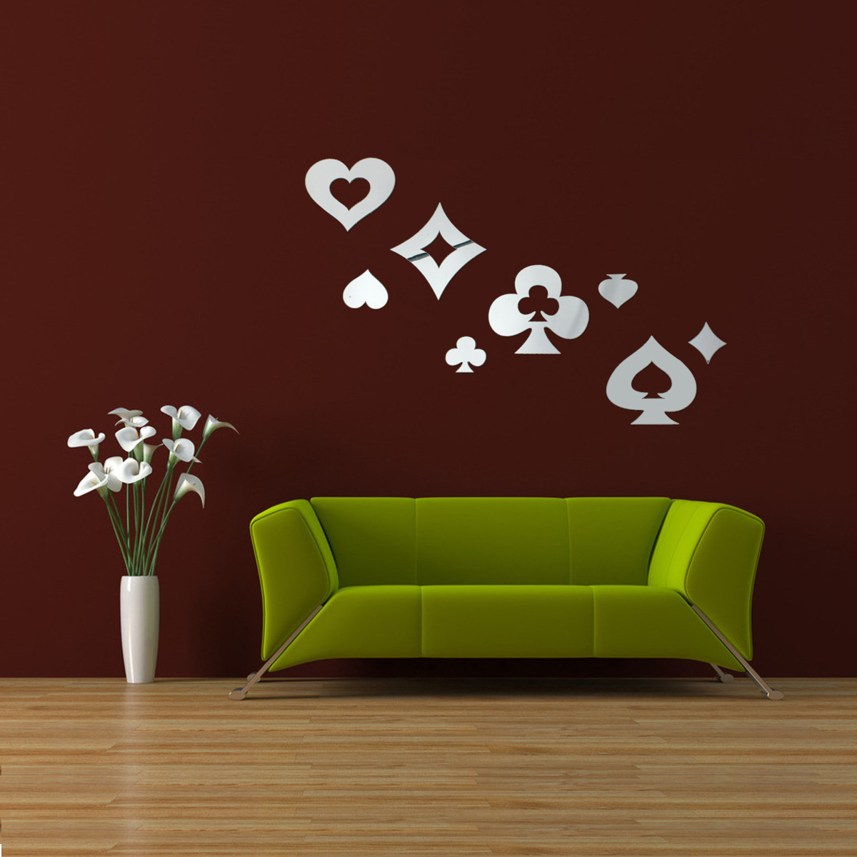 Murales pegatinas pared sticker espejo design diy pared de for Pegatinas murales pared