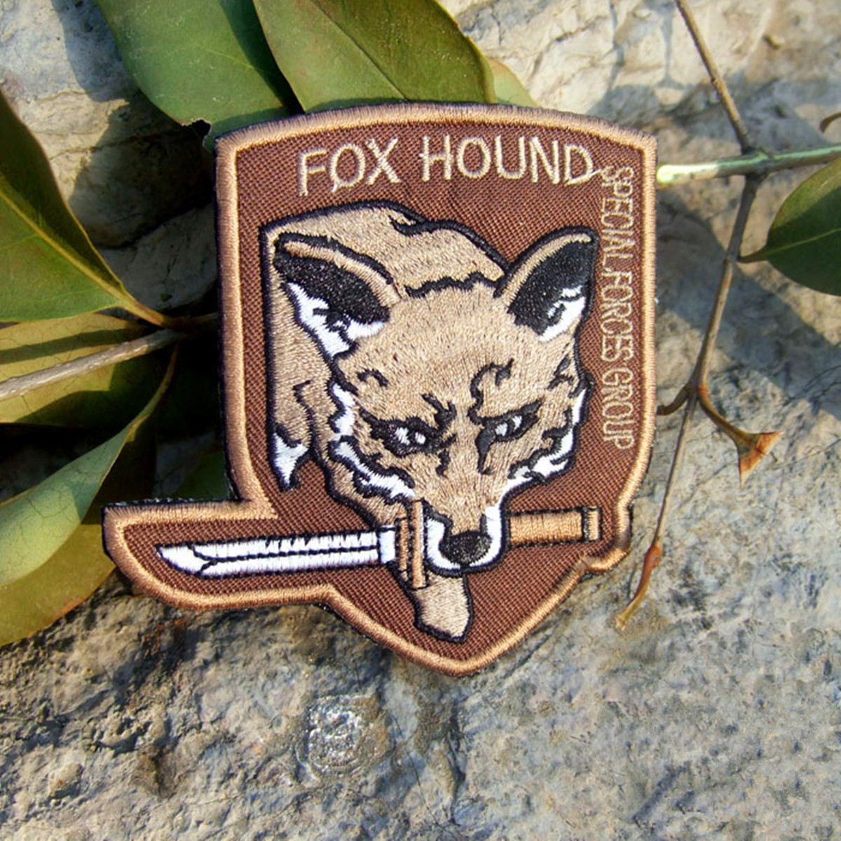 Modish Metal Gear Solid Fox Hound Force Embroided Armband Patch Fantastic