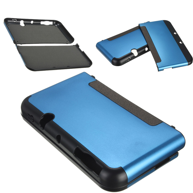Etui coque housse protection aluminium cover pr console for Housse nintendo 3ds xl