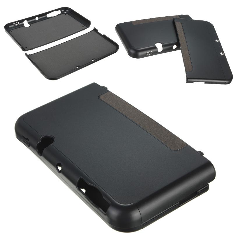 Etui coque housse protection aluminium cover pr console for Housse nintendo 3ds xl
