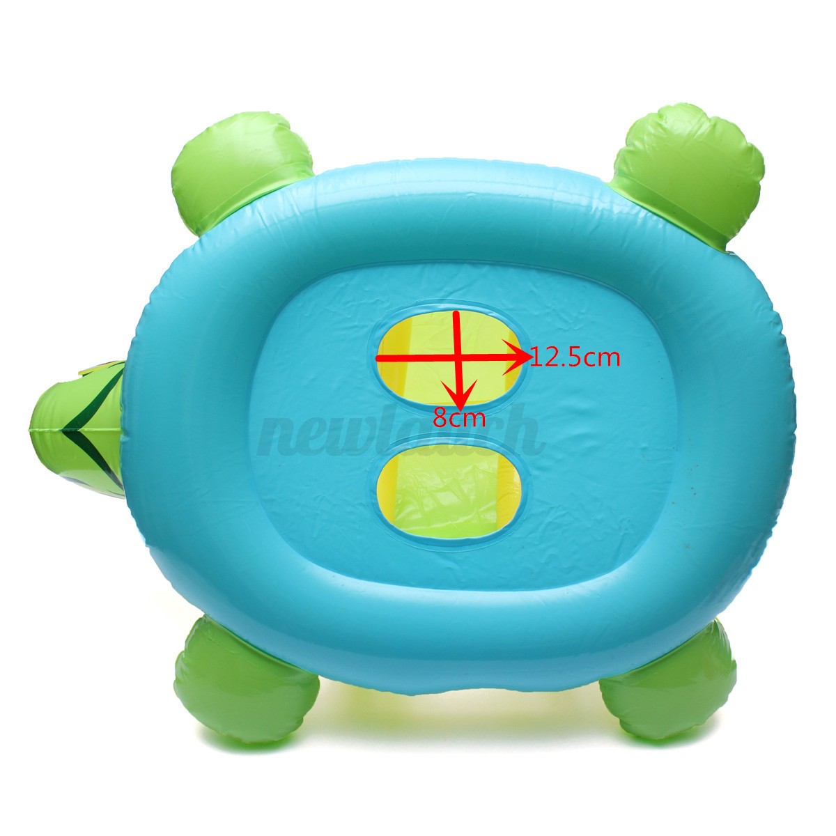 Kids Baby Inflatable Pool Tortoise Float Seat Boat Swim Ring Sunshade Canopy Ebay