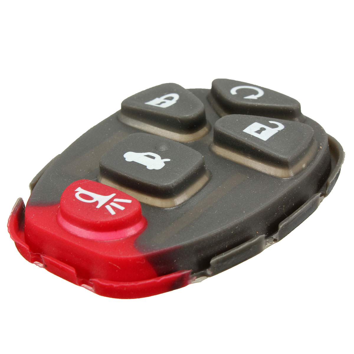 Remote Key 5 Buttons Rubber Pad For Chevrolet Gm Buick Fob