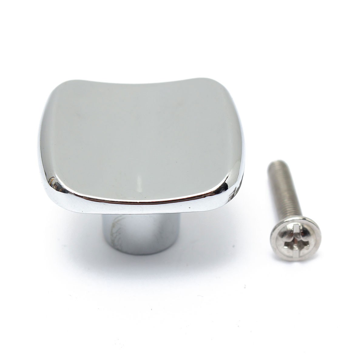 NEW-1-3-16-Satin-Nickel-Kitchen-Cabinet-Hardware-Drawer-Handle-Pull-Square-Knob