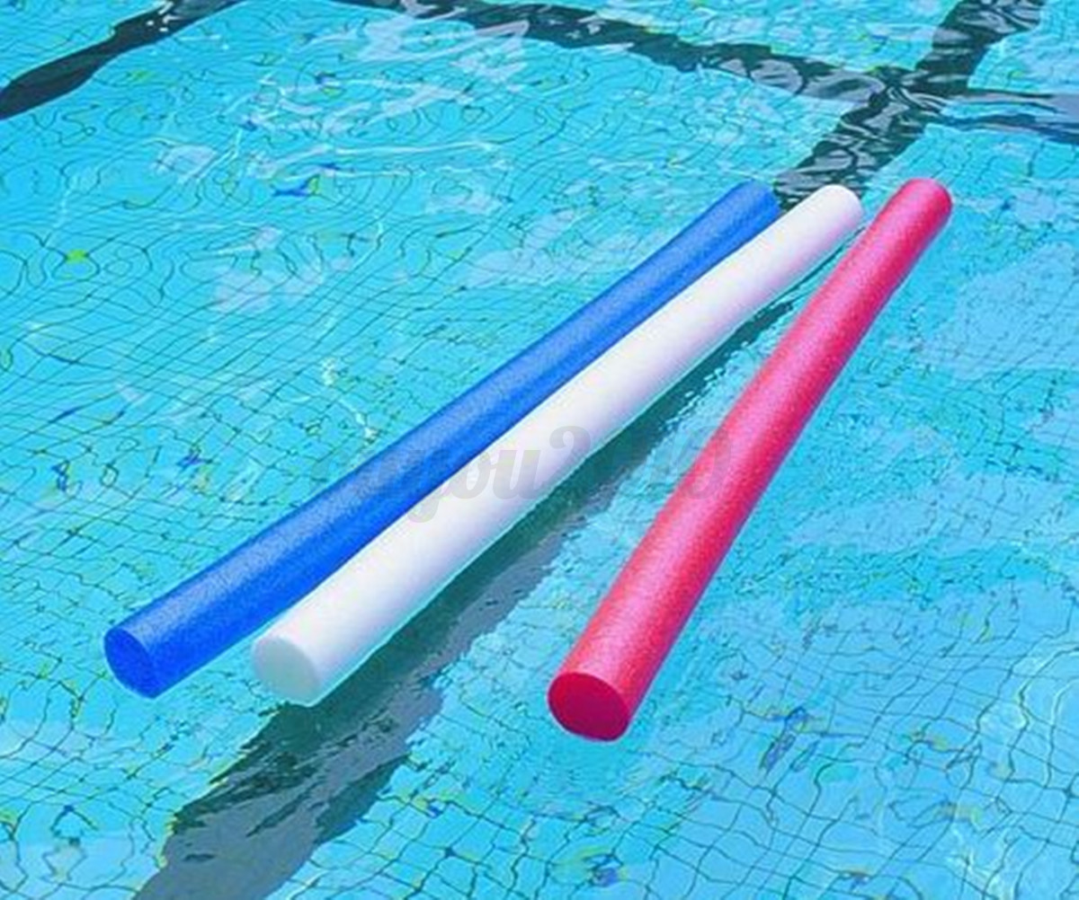 Pool Noodle Water Floating Foam Swimming Solid Core Swim ...