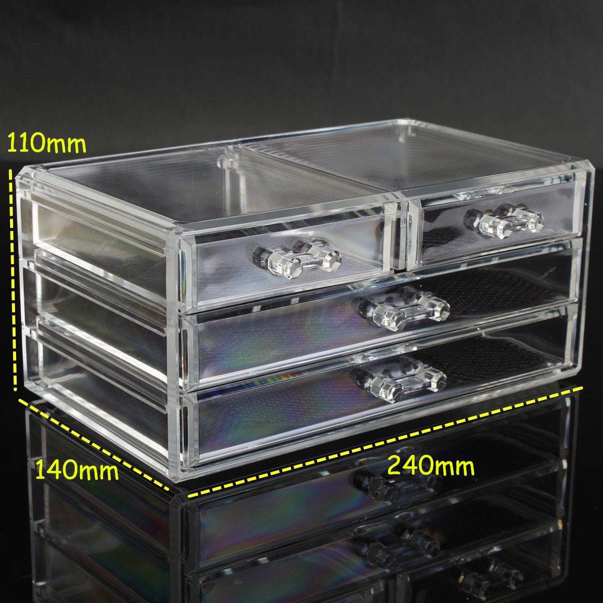 Acrylique 7 types pr sentoir rangement cosm tique - Boite maquillage acrylique ...