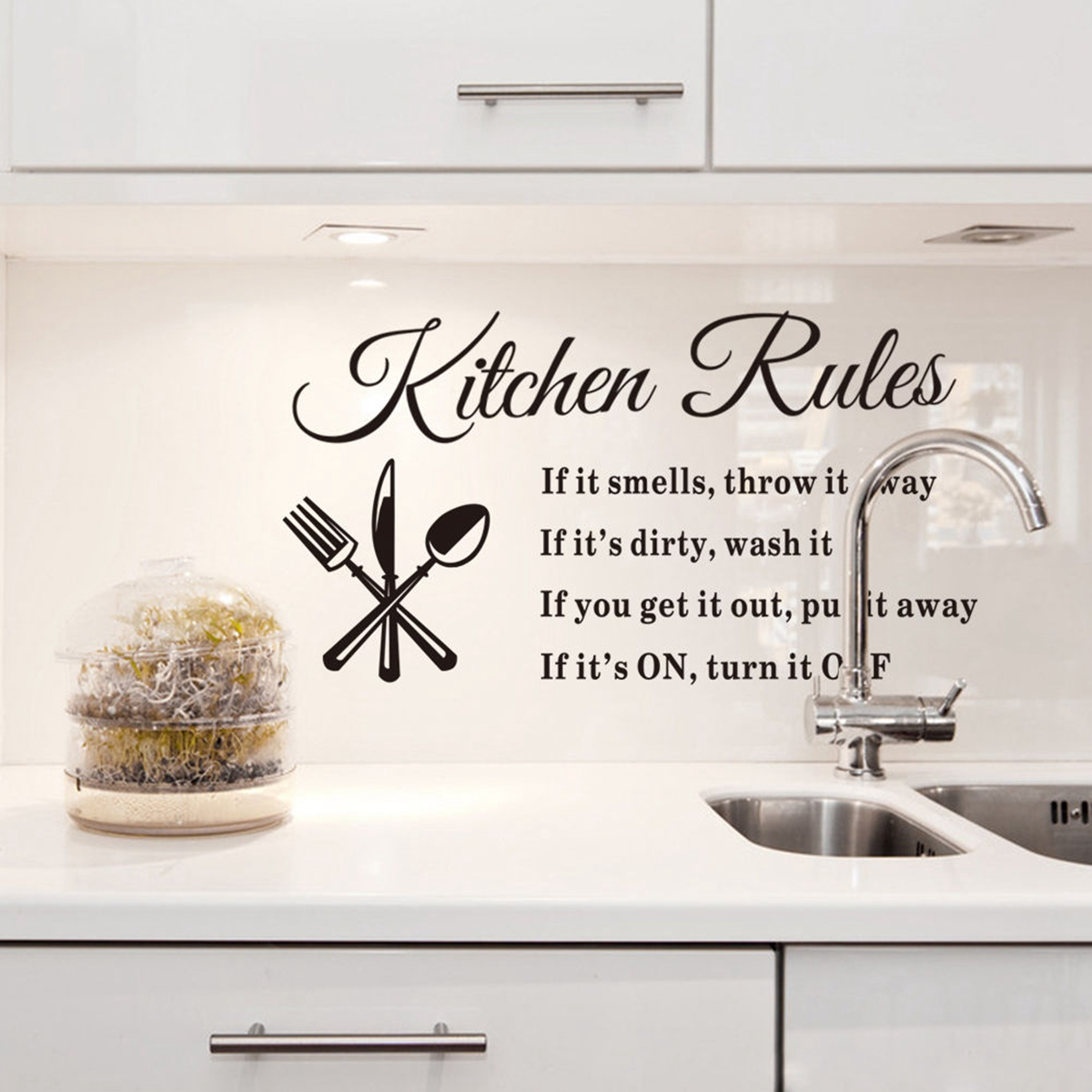 Wall decals kitchen backsplash - Wall Stickers And Quotes Wall Stickers Uae Diy Removable Art Quote Wall Sticker Decal Home