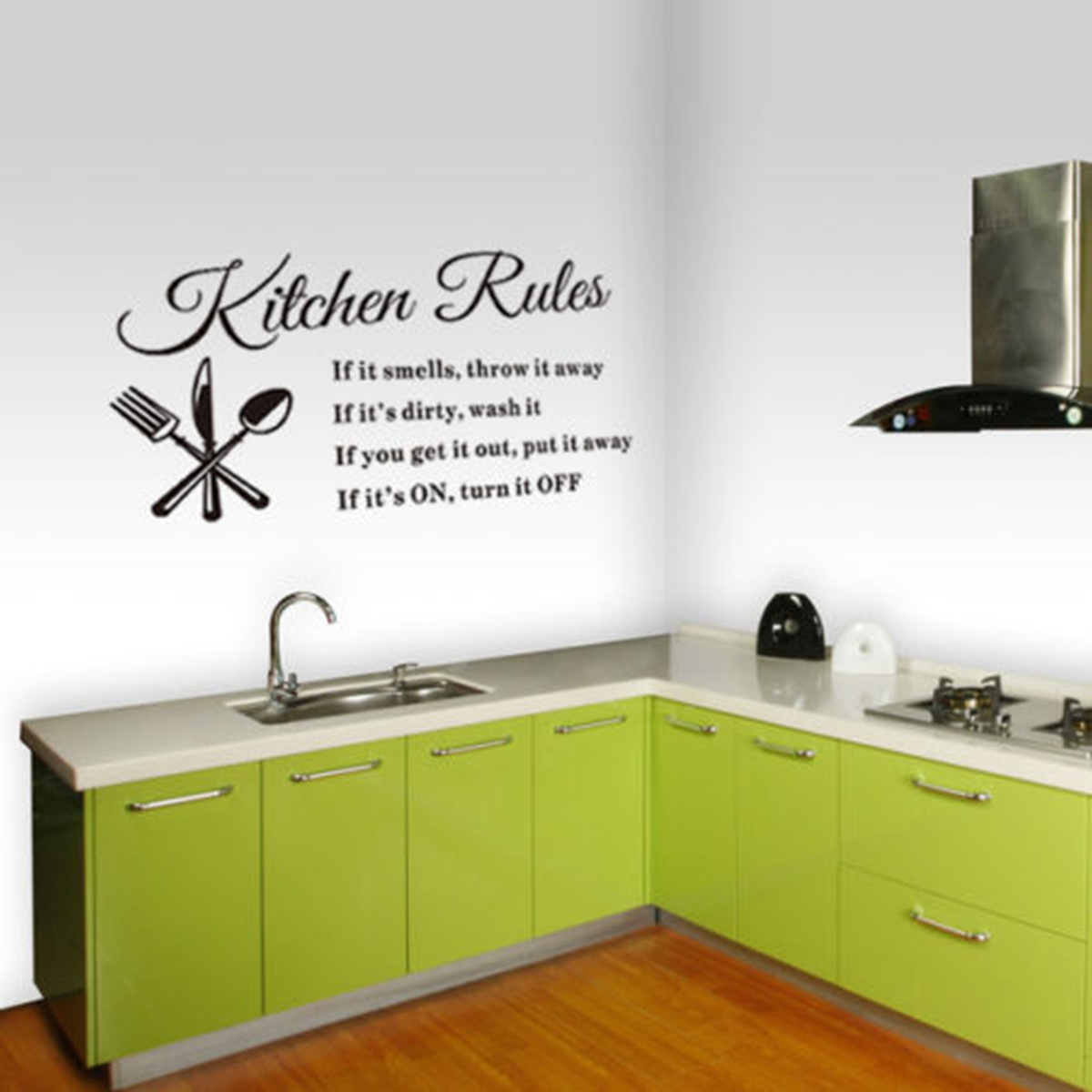 Kitchen Wall Vinyl: DIY Removable Art Vinyl Quote Wall Sticker Decal Home