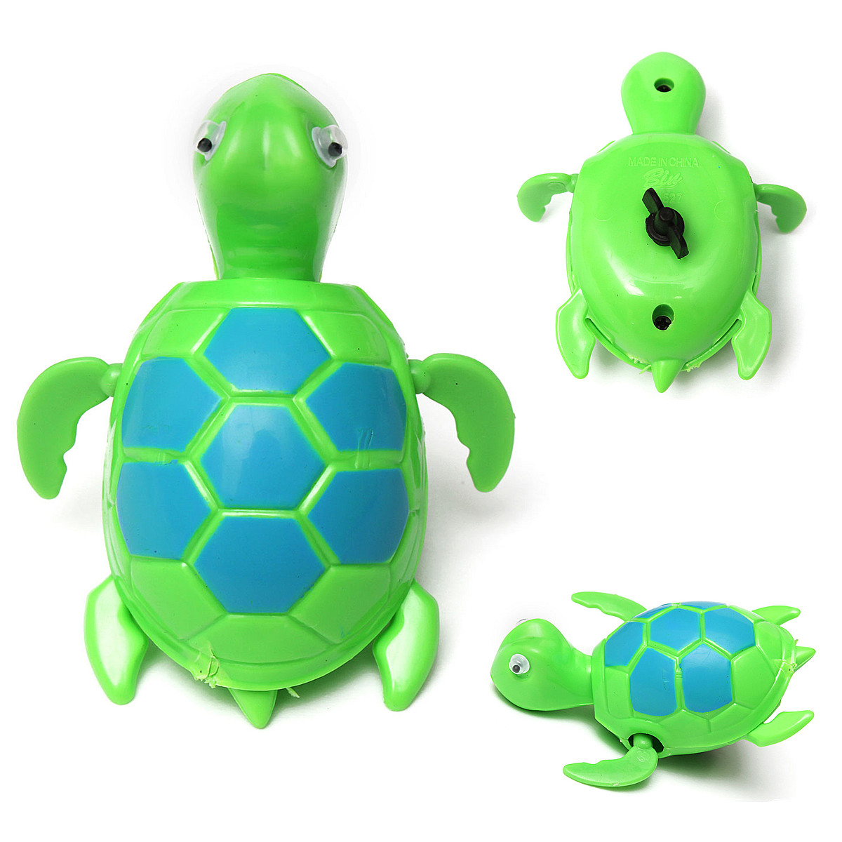 Floating Wind Up Swimming Turtle Summer Toy For Kids Children Pool Bath Fun Time Ebay