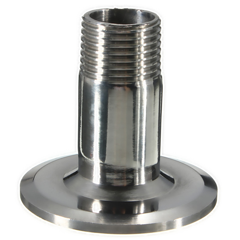 Quot to sanitary male threaded ferrule pipe fitting tri
