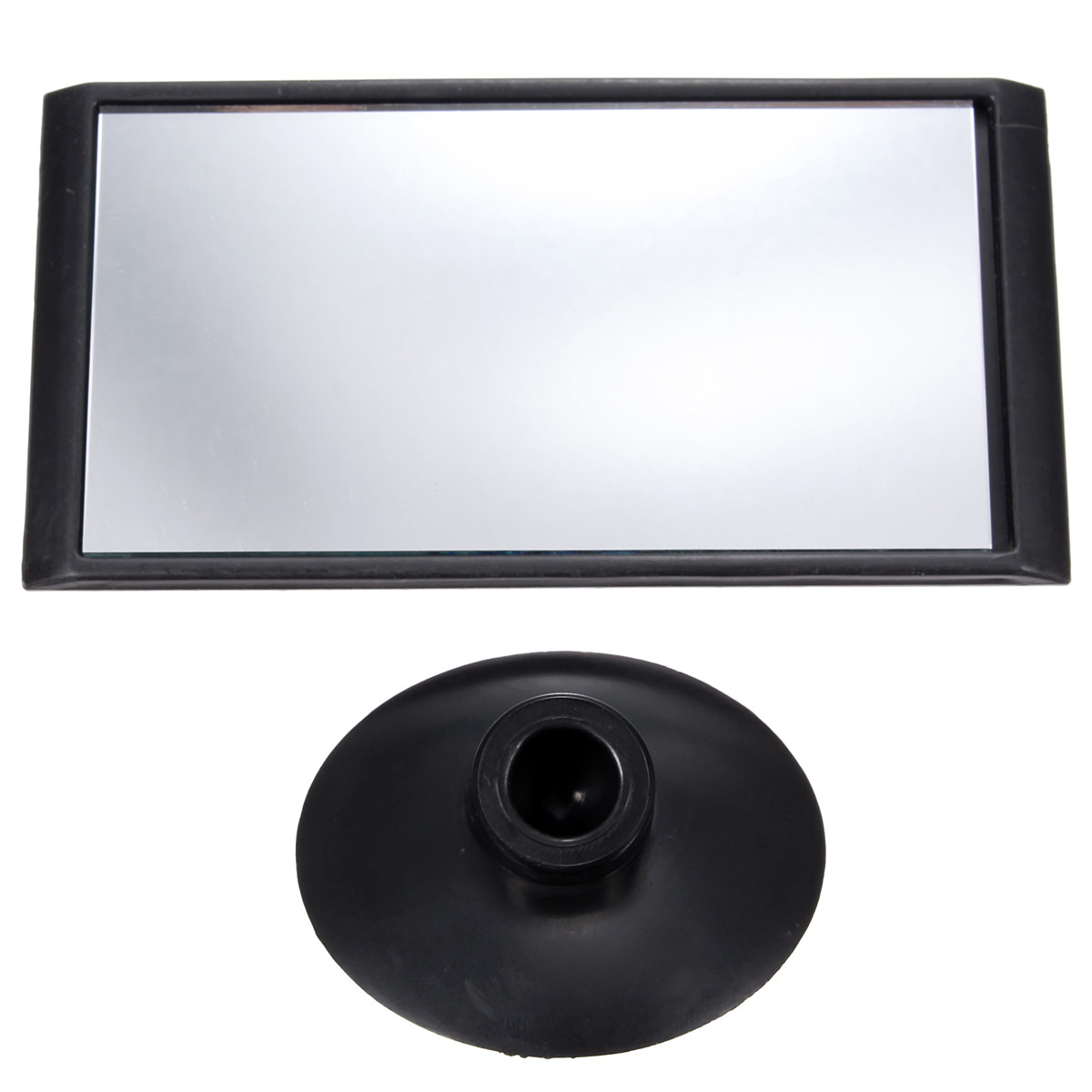 universal car adjustable interior blind spot rearview suction windscreen mirror. Black Bedroom Furniture Sets. Home Design Ideas