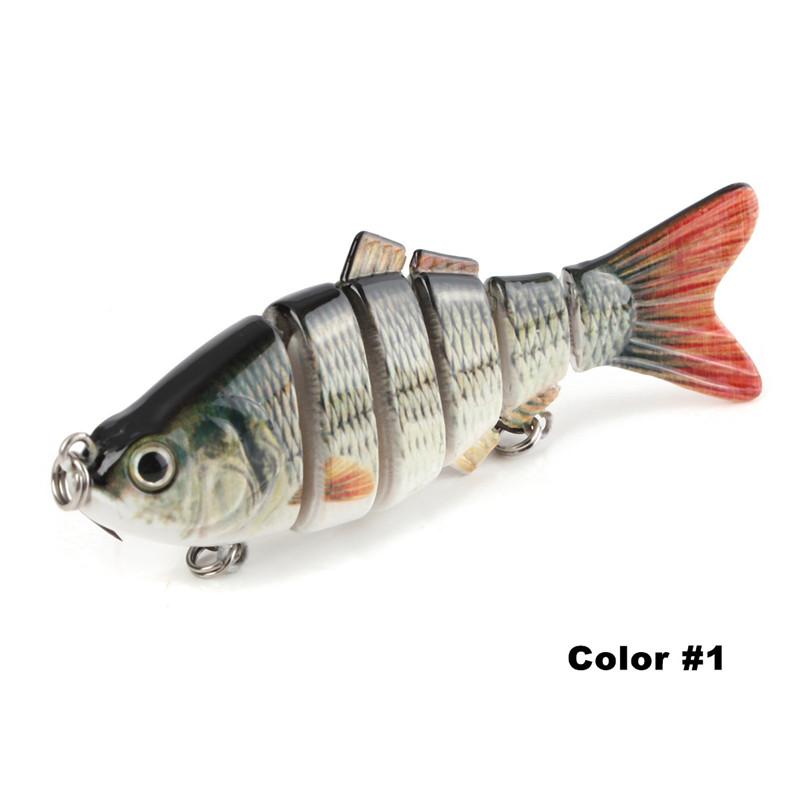 4 39 39 inches multi jointed bass fishing bait swimbait lure for Bass fishing jerkbaits