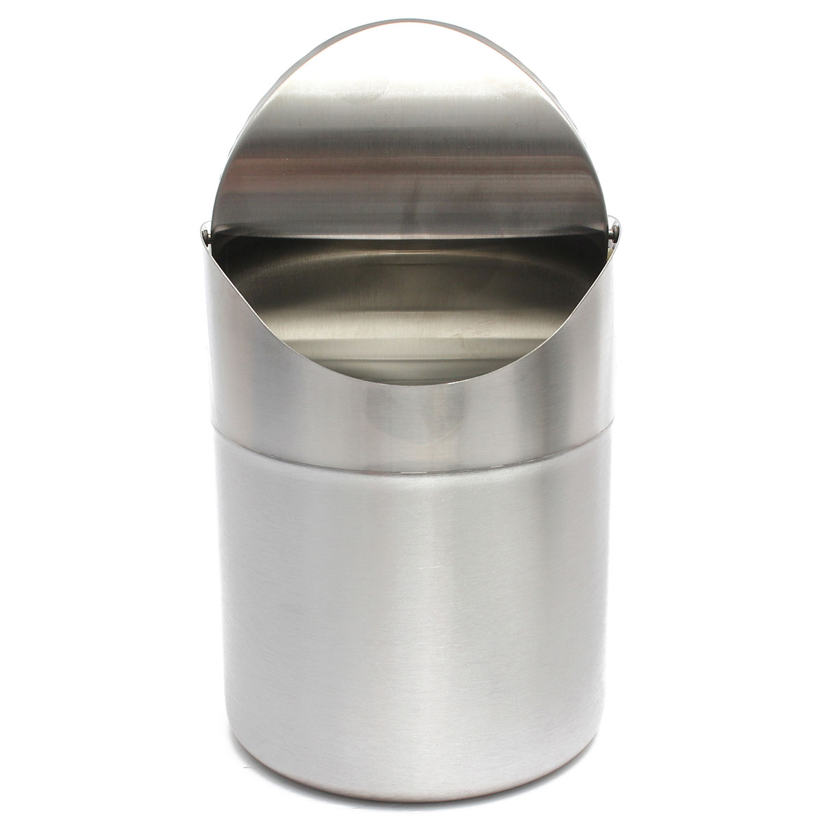 Kitchen Tidy 15l Home Kitchen Table Tidy Stainless Steel Dustbin Trash Can