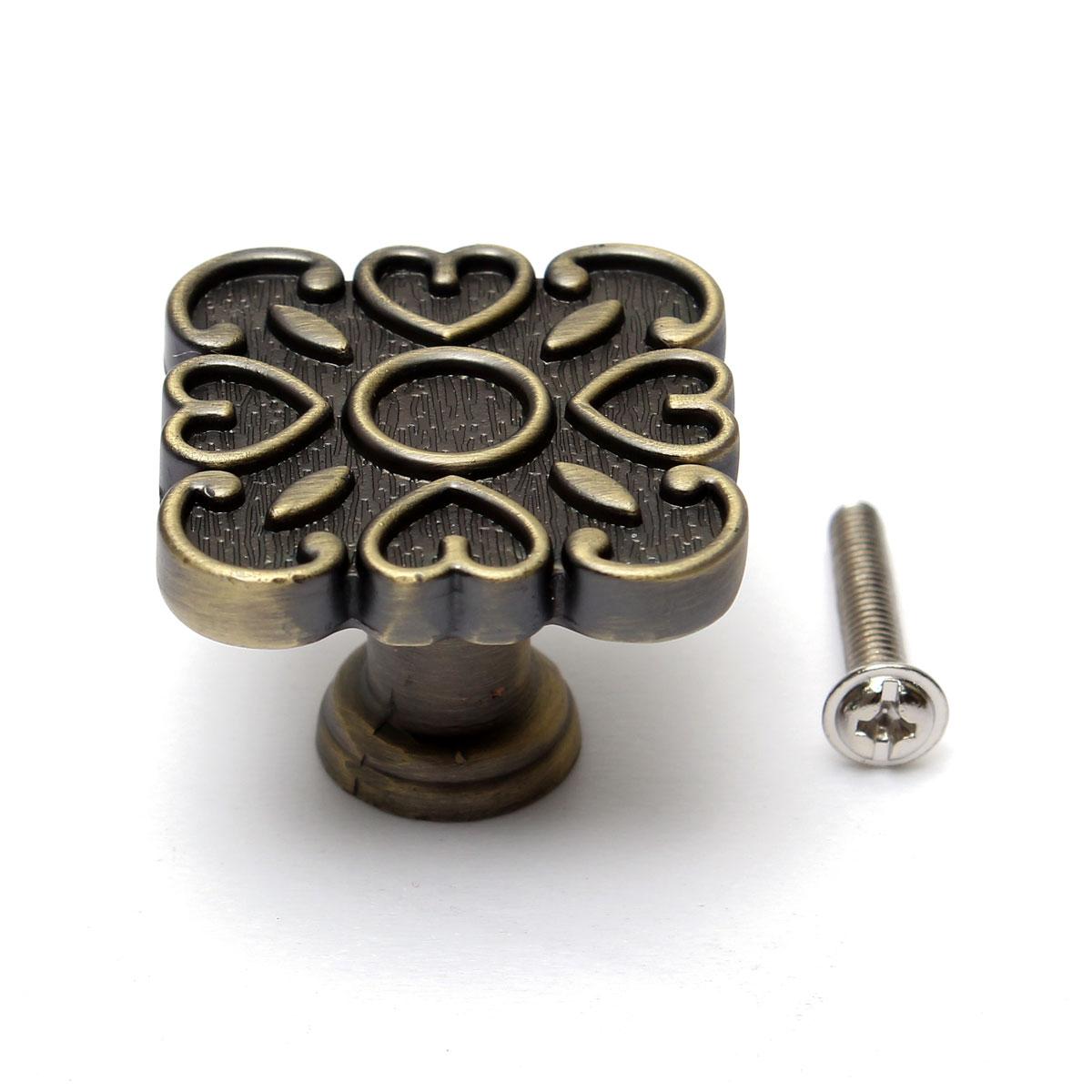 bronze cabinet drawer door hardware 64 96 128mm handle pulls round square knobs ebay. Black Bedroom Furniture Sets. Home Design Ideas