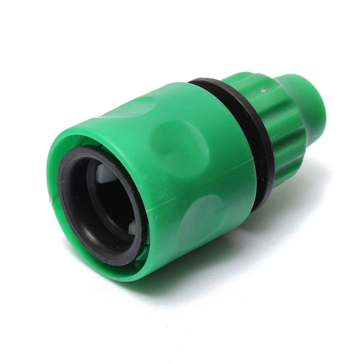 3 8 green plastic garden washing water hose pipe coupler for Plastic water pipe