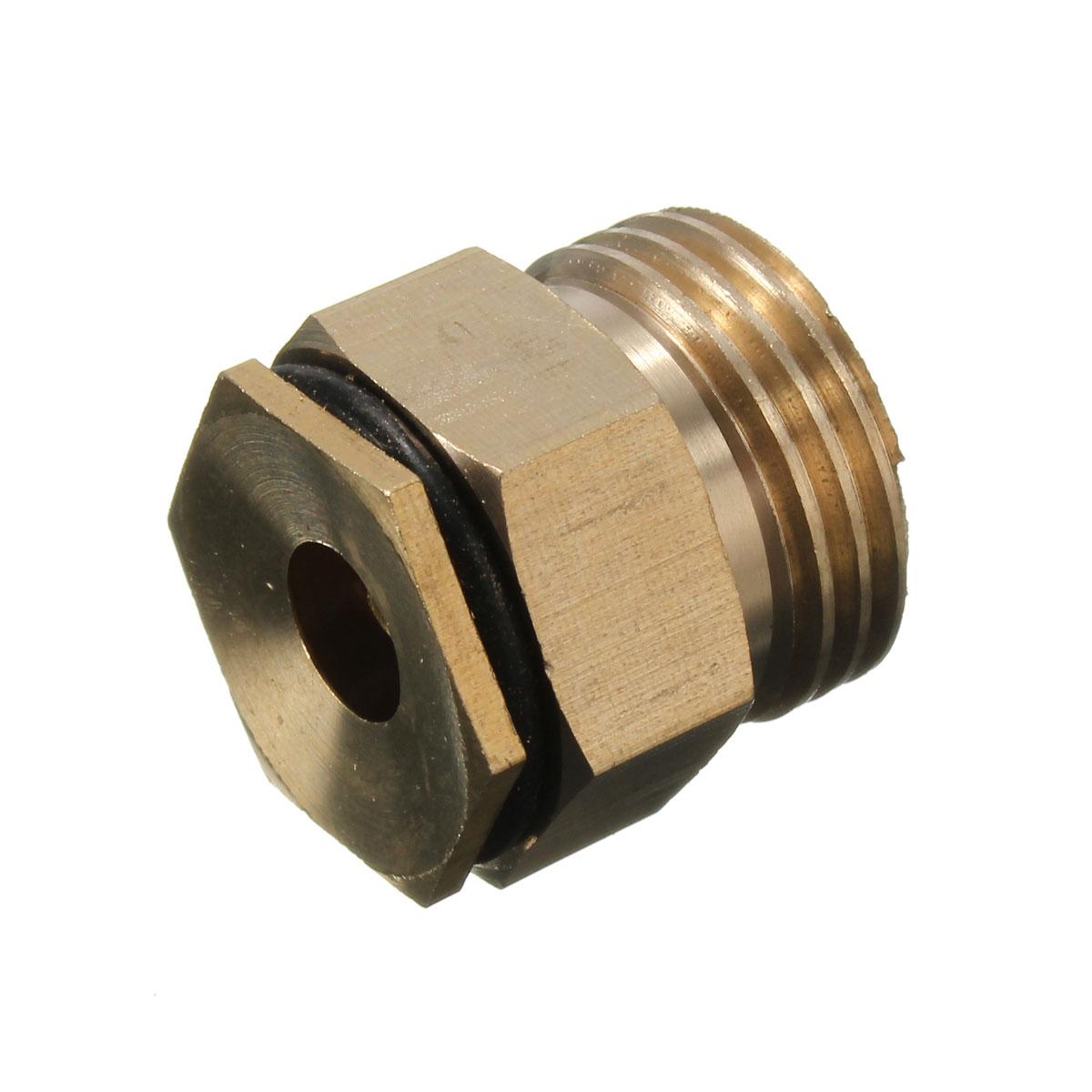 Quot male thread brass irrigation mist spray nozzle parts
