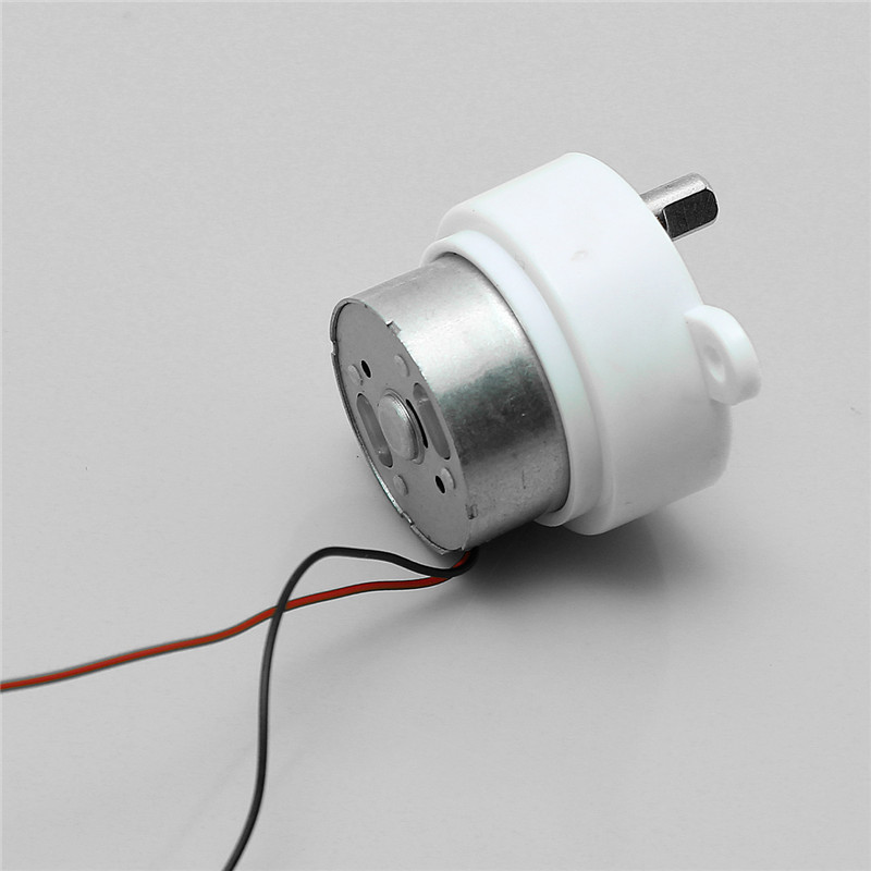 Small Dc 6v Electric Geared Motor Worm Brush Gear Motor