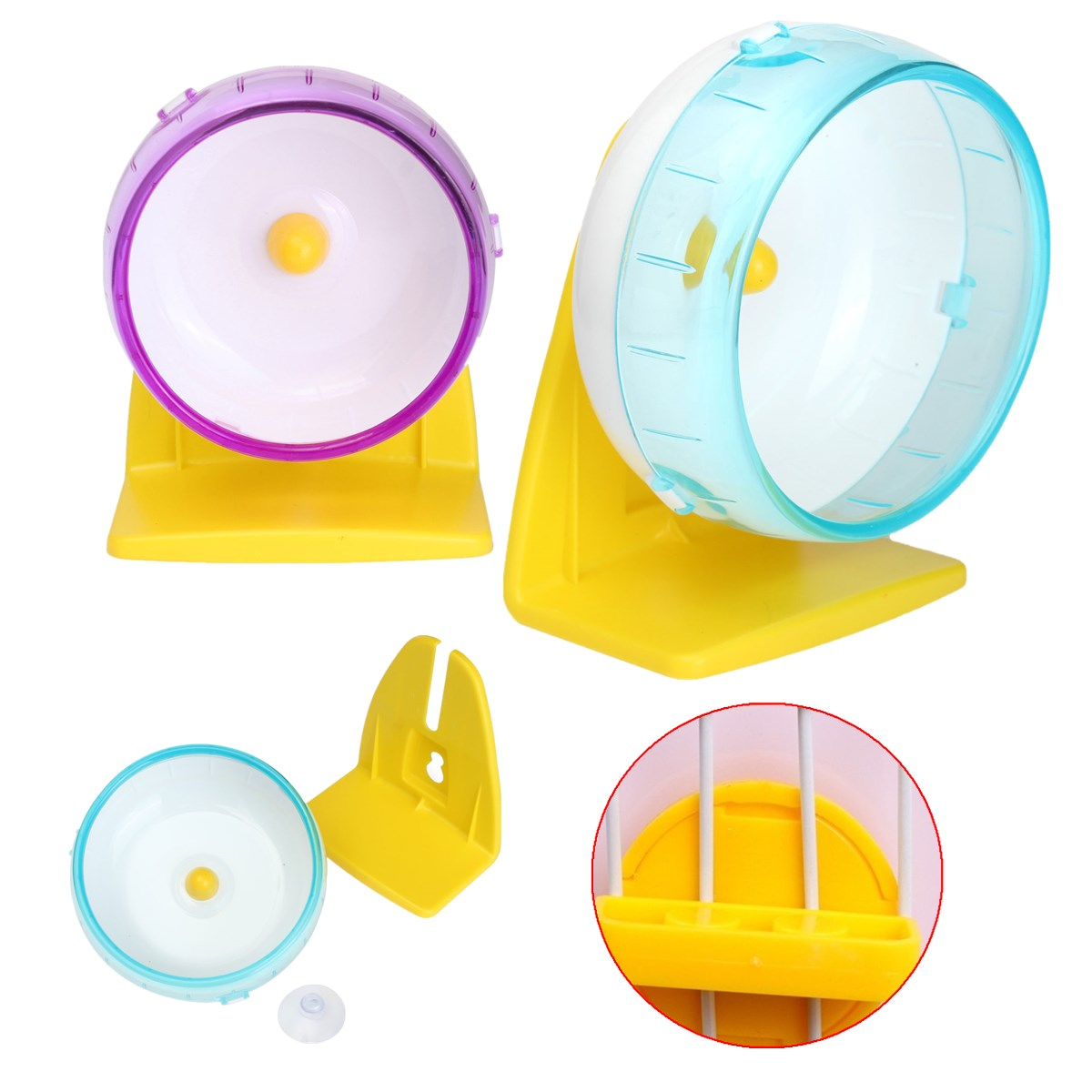 Plastic Silent Hamster Mouse Rat Mice Exercise Run Running ...