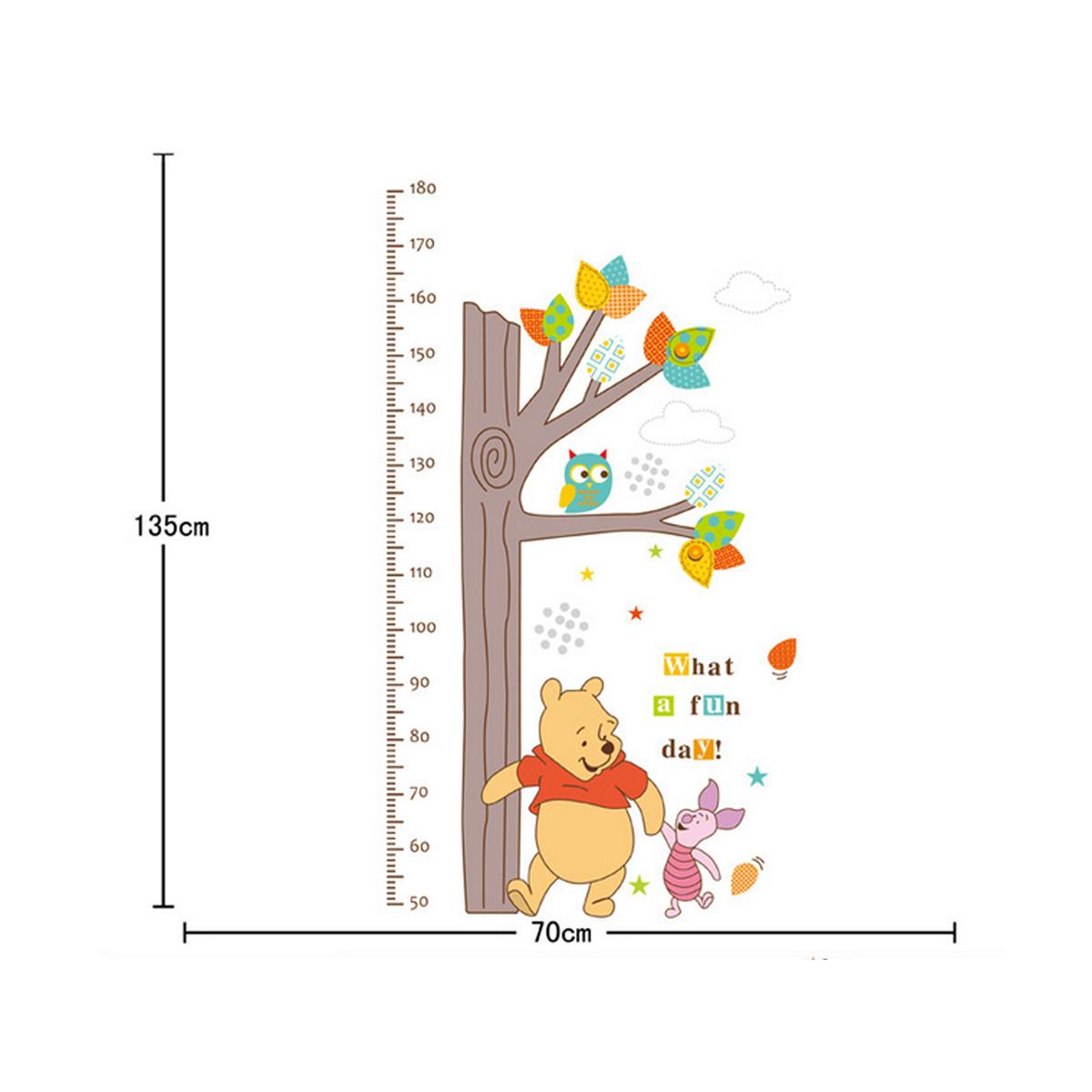 Cartoon animals children kids growth height measure chart wall cartoon animals children kids growth height measure chart geenschuldenfo Images