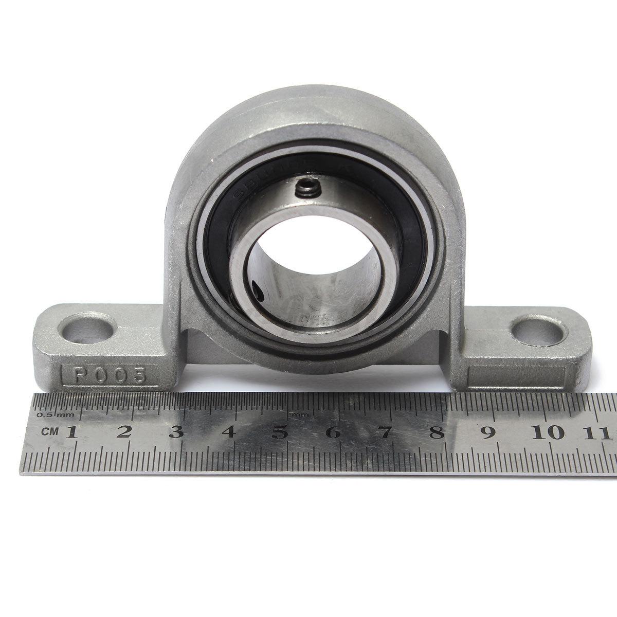 8/10/15/17/20/25mm Dia Bore Diameter Mounted Insert Bearings Ball Pillow Block