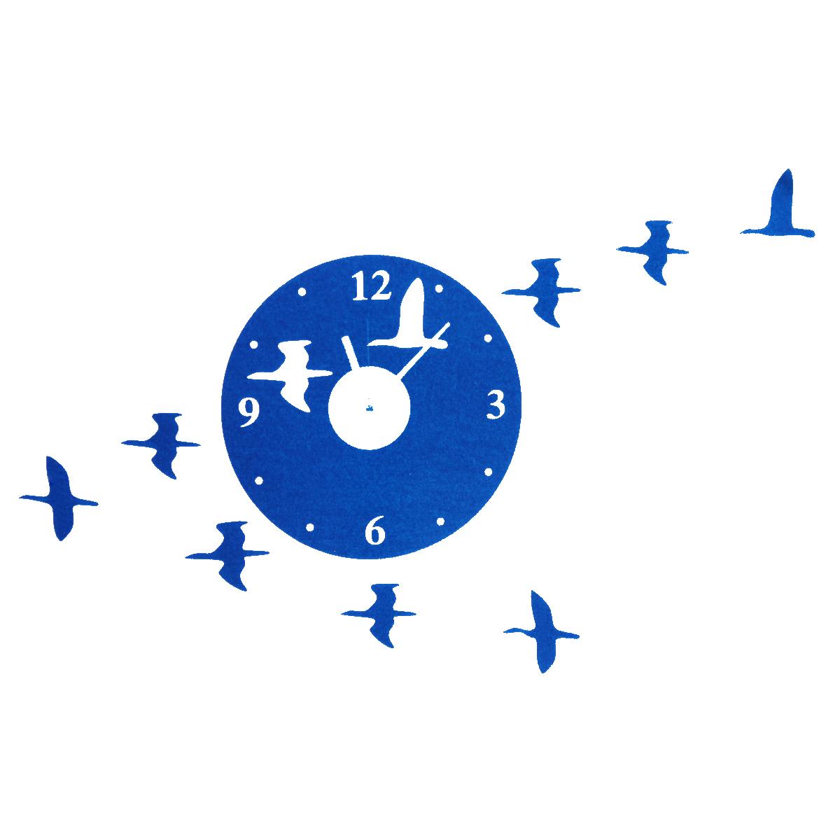 Diy orologio da parete muro home moderno decorazione casa for Orologio stickers