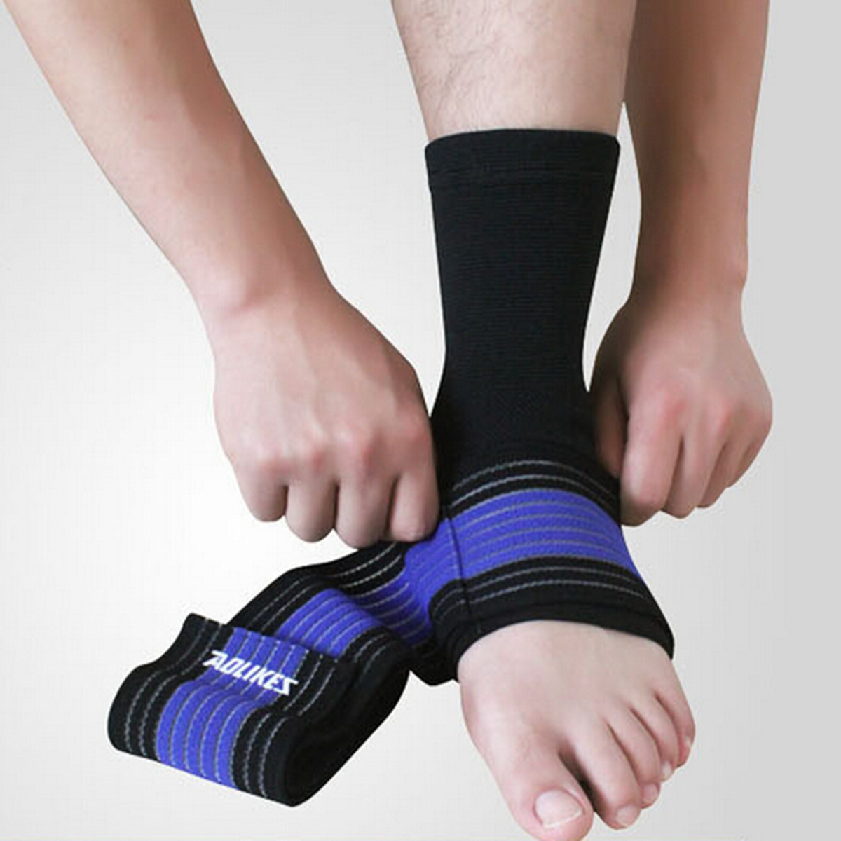 Ankle Support Brace Foot Guard Sprains Injury Wrap Elastic