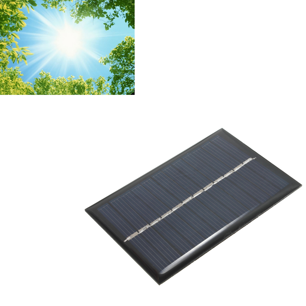 6v 100ma 0 6w Solar Panel Poly Module For Diy Small Cell
