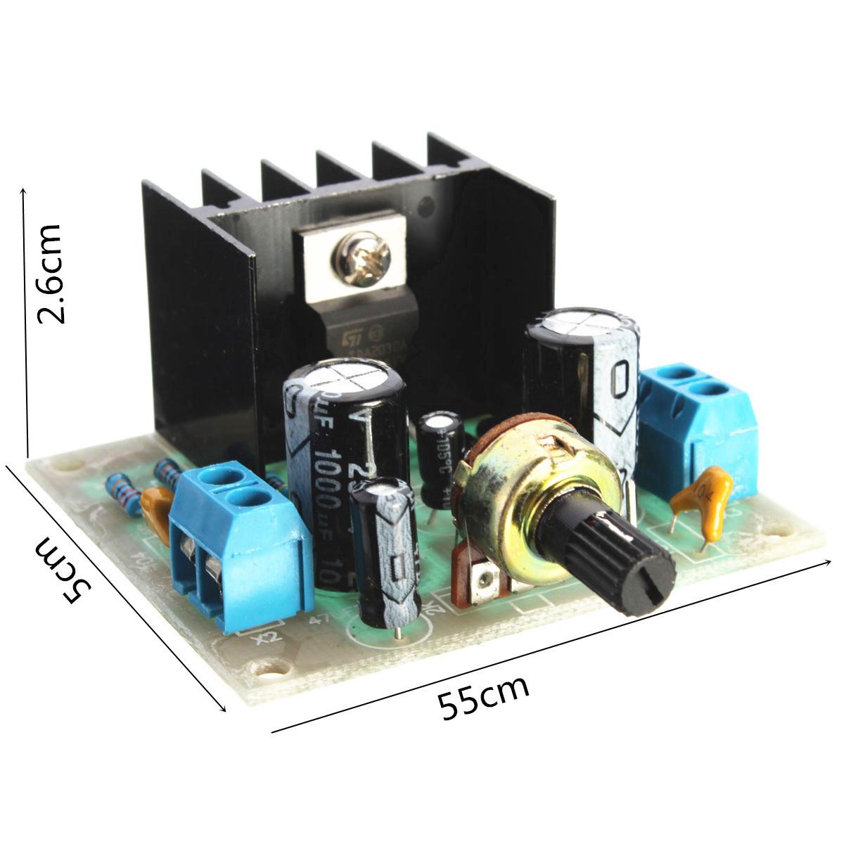 tda2030a audio power amplifier pcb board diy learnin kit