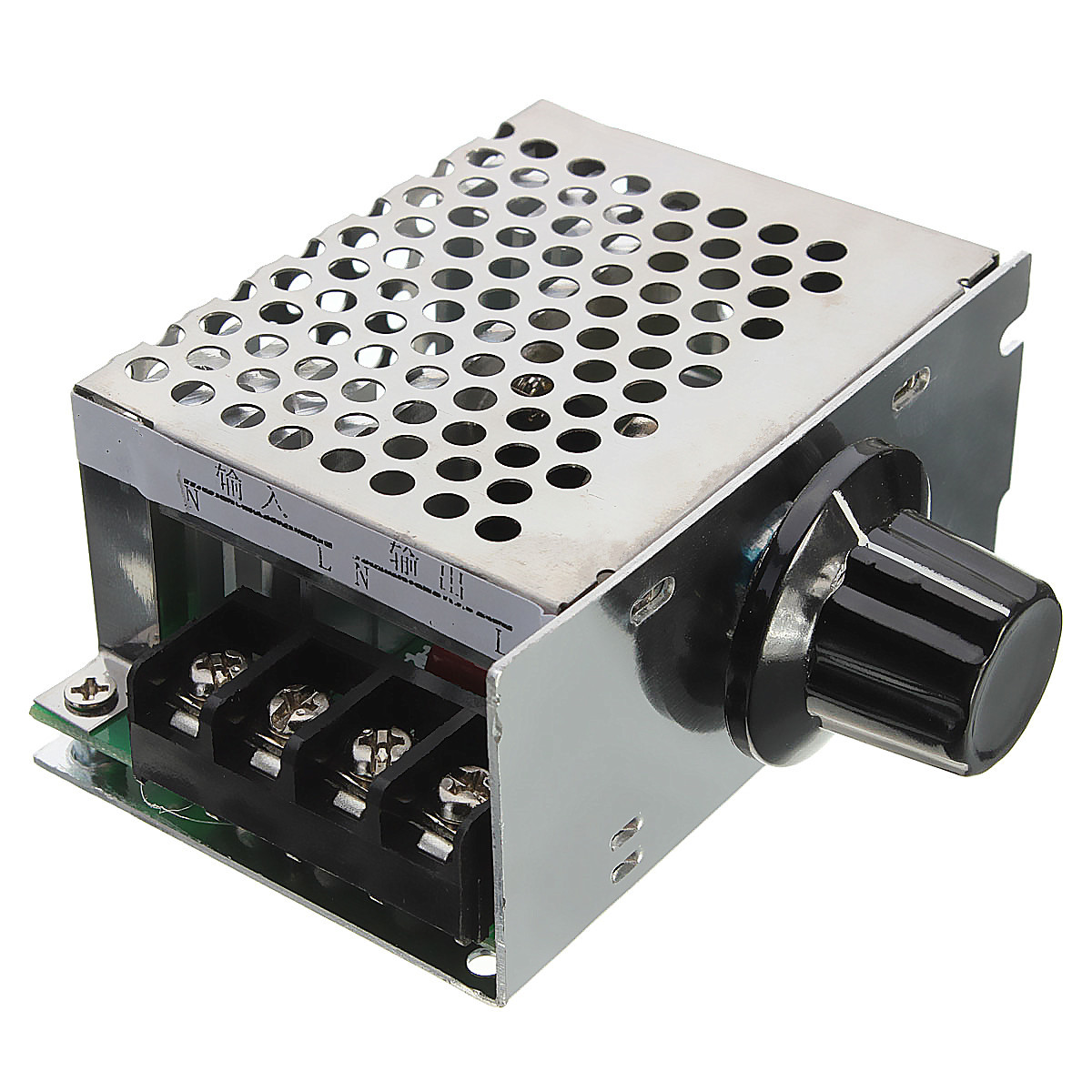 4000w 220v ac scr electric voltage regulator dimmer motor for Speed control electric motor