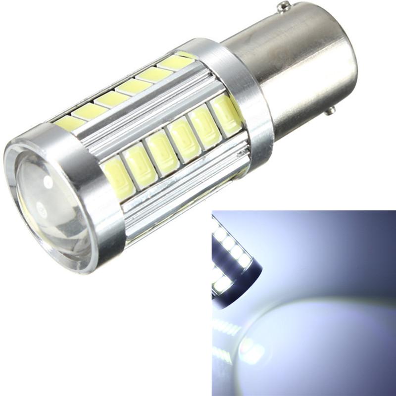 2x Lampada 1156 LED BA15s Lampada 33 SMD 5630 7506 auto interni Turn Reverse