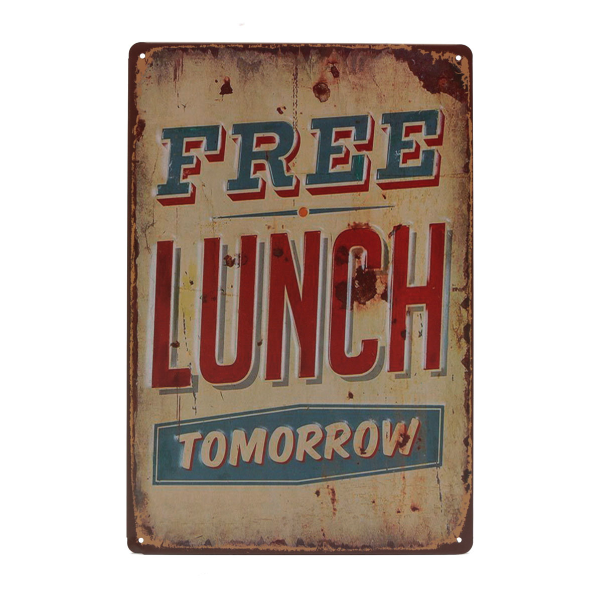 20x30cm retro metal tin sign plaque food wall poster wall decor bar pub home uk ebay. Black Bedroom Furniture Sets. Home Design Ideas