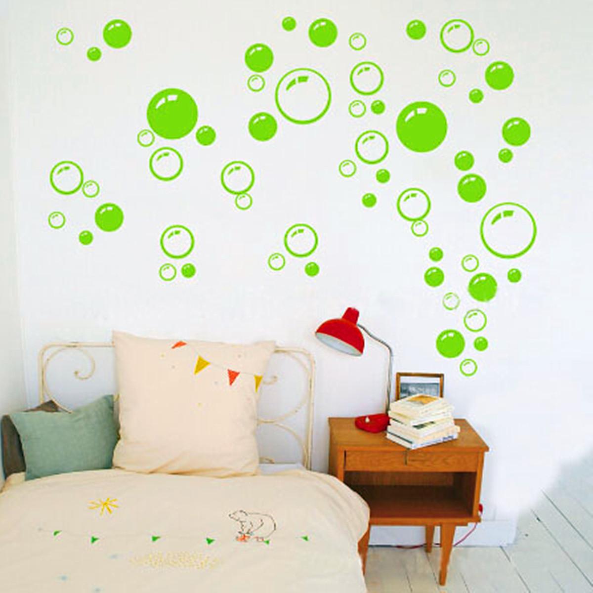 86 bulle d calque sticker autocollant mural mur fen tre for Decalque mural
