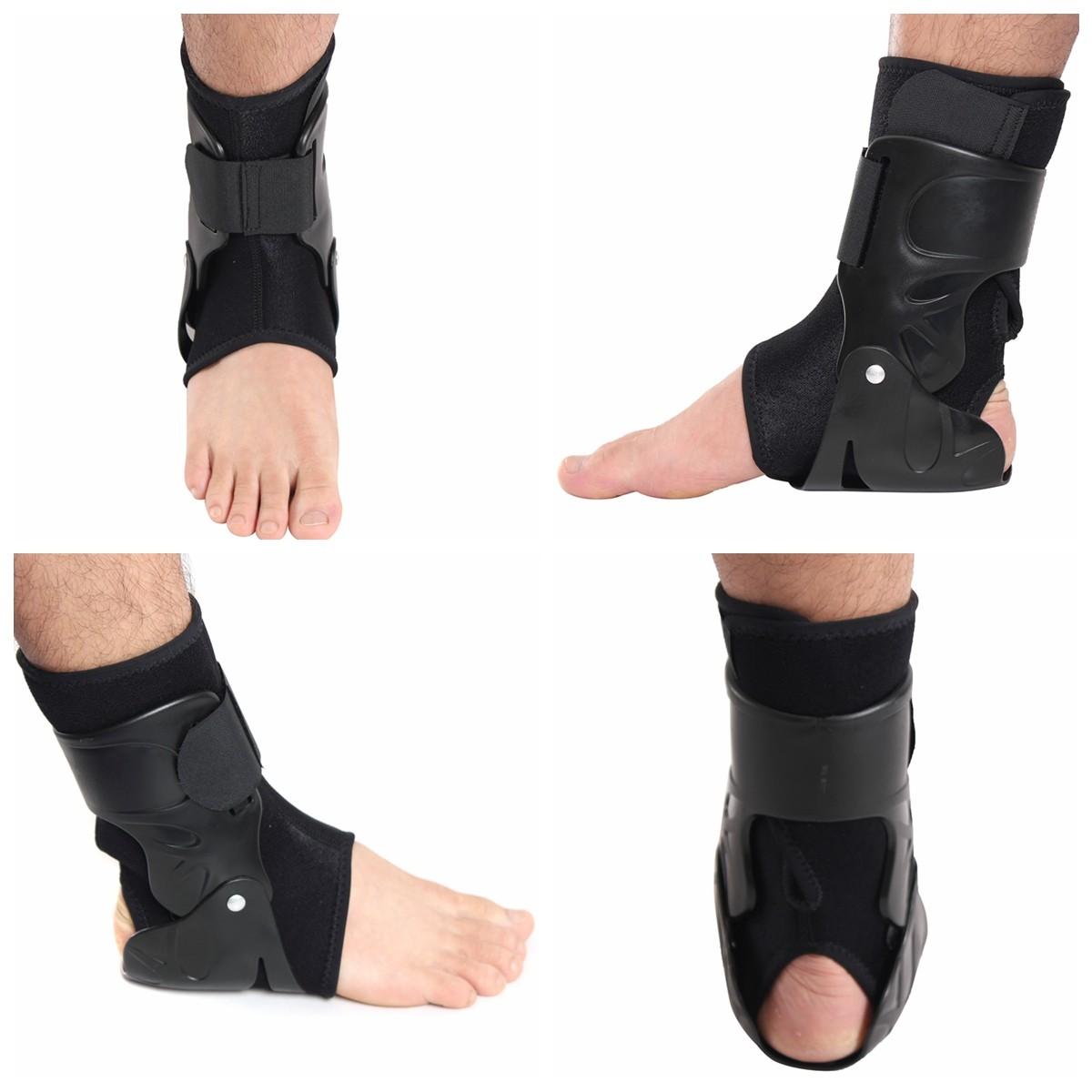 medical ankle support brace foot guard sprains injury wrap elastic splint strap ebay
