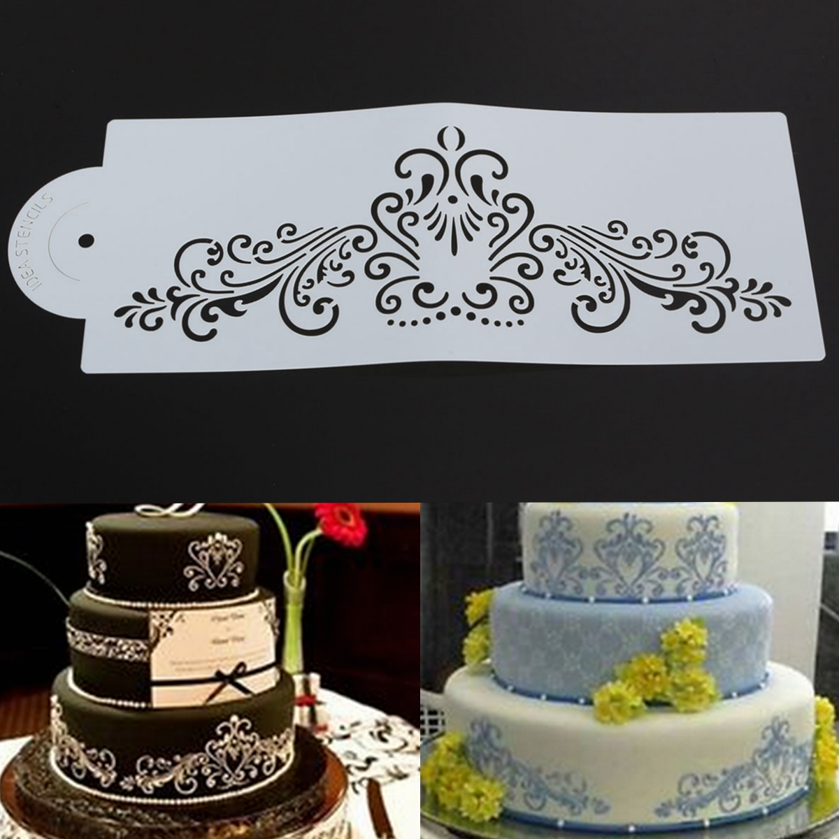 Cake Decorating Side Stencils