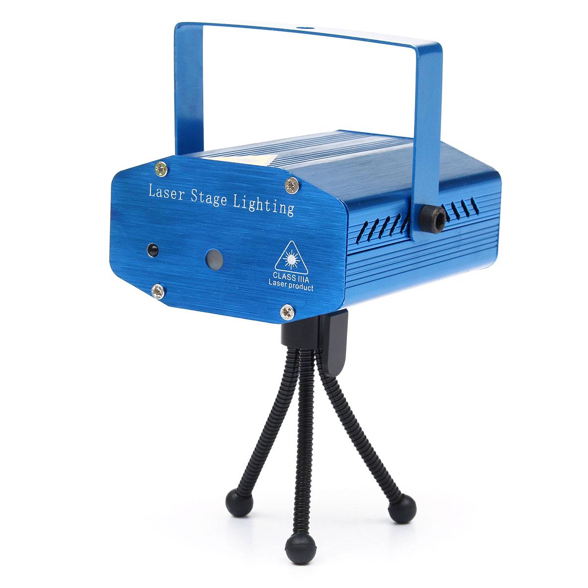 Mini led laser stage projecteur xmas lumiere eclairage telecommande pr dj disco ebay for Laser projecteur