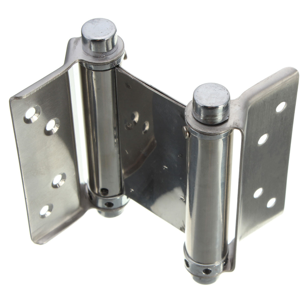 Saloon Door Hinges : Pcs inch double action spring hinge saloon cafe door