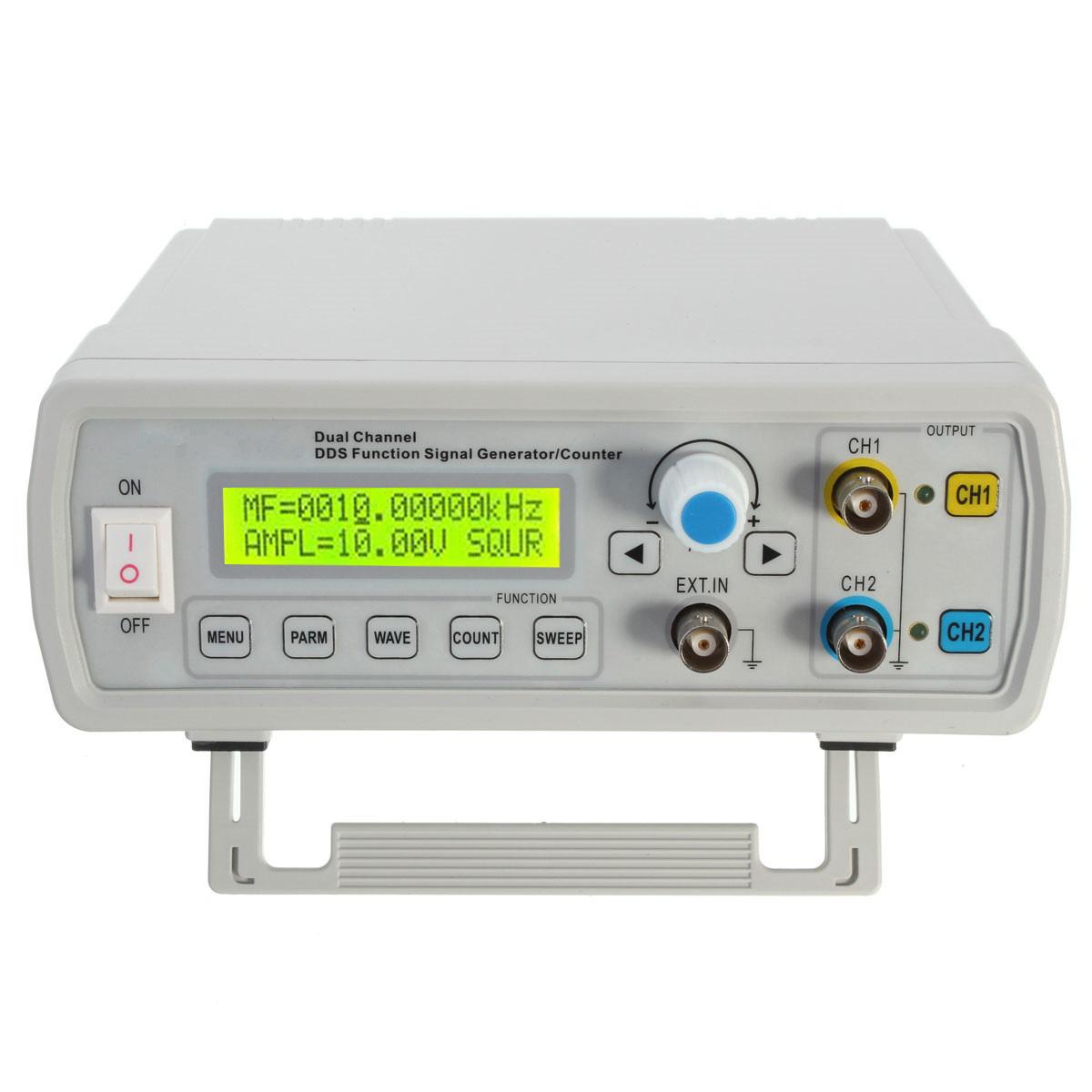 Ac Signal Generator : Mhz dual channel dds function signal generator sine