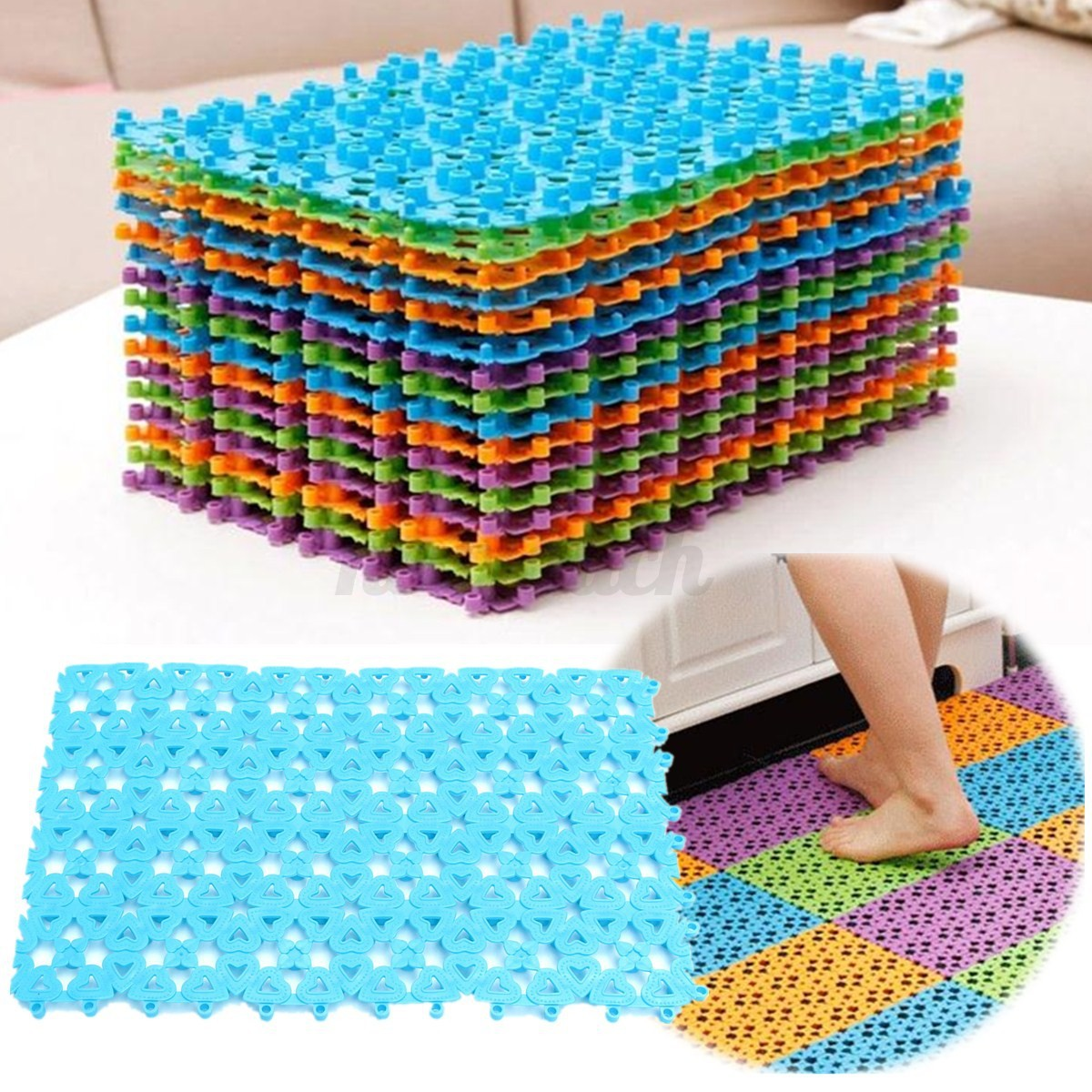 bath mat bathtub tub shower large non anti slip skid nonslip rubber safety floor ebay