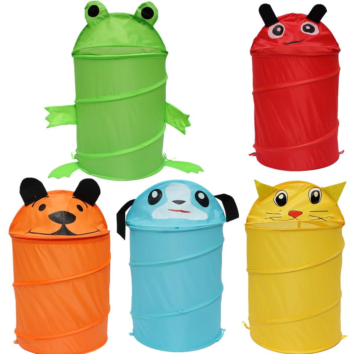animaux panier 224 linge v 234 tement jouet sac rangement stockage pliable pr enfant ebay