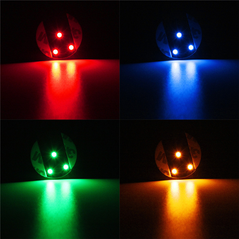3 led flashing light bulb bottle cup mat coaster club bar christmas party gift ebay - Lighted coaster ...