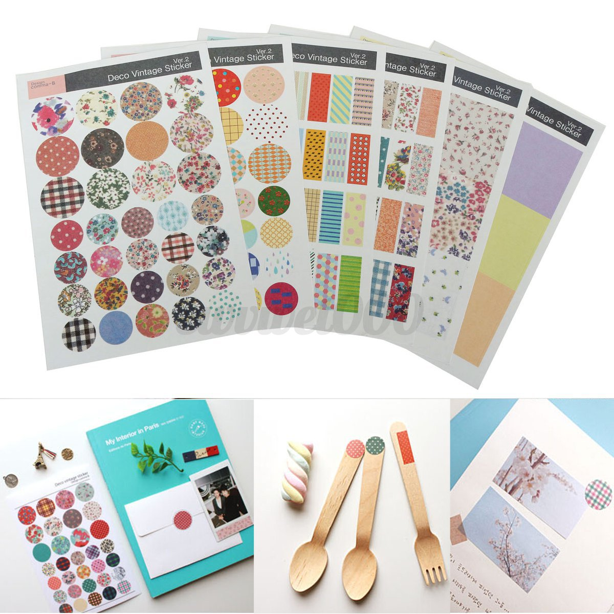 Diy Calendar Diary : Diy album scrapbook calendar diary planner card photo