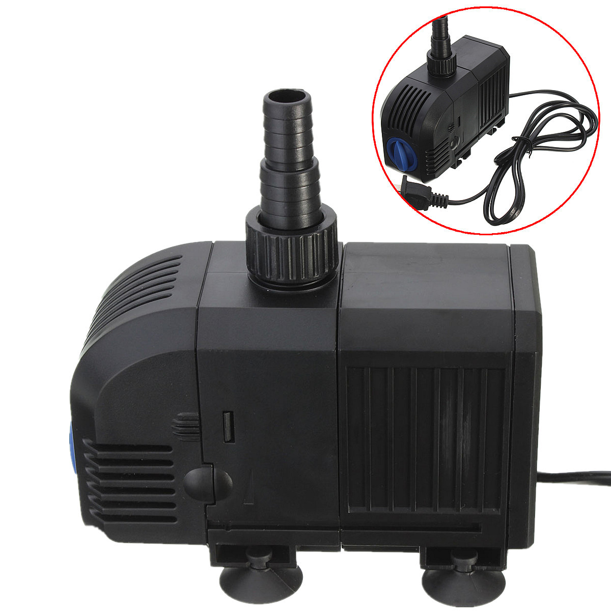 400gph 1500l h 25w adjustable submersible water pump for Submersible fish tank pump