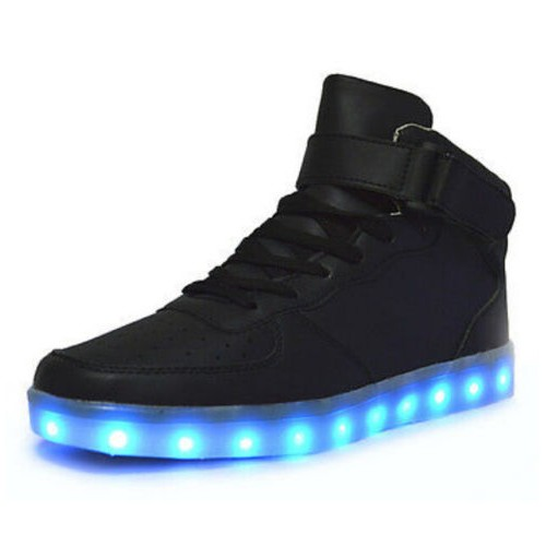 New LED Men Women Light Up Trainer Shoes Running Sneakers Rio Closing Ceremony