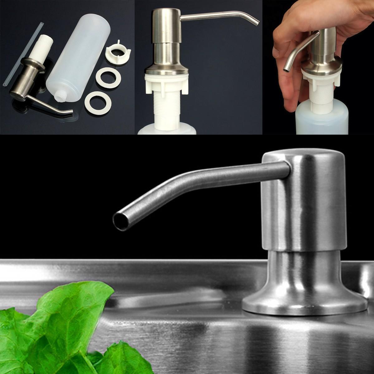 350ml kitchen bathroom sink liquid soap lotion holder for Bathroom bottles