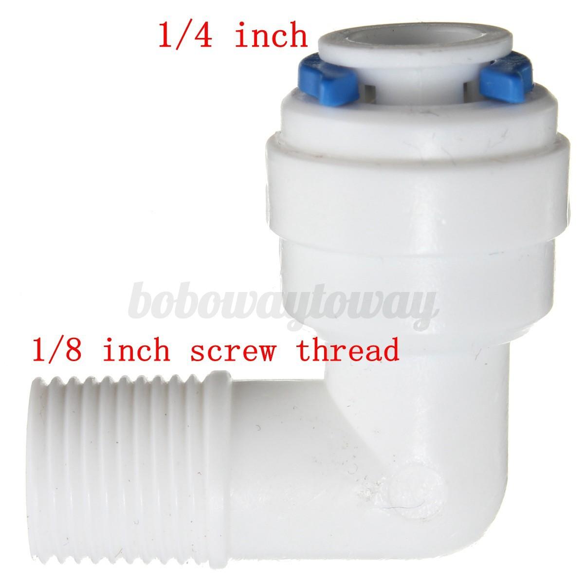 1 4 39 39 kunststoff verschraubung fittings f r wasserfilter klemmfitting verbinder ebay. Black Bedroom Furniture Sets. Home Design Ideas