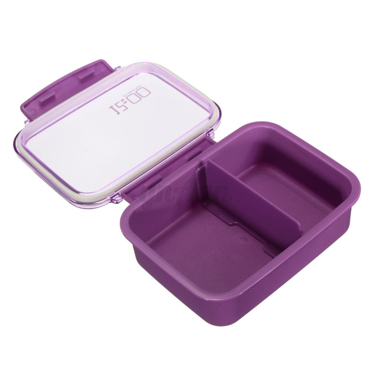 Portable microwave plastic bento lunch box picnic food - Porta poster plexiglass ...