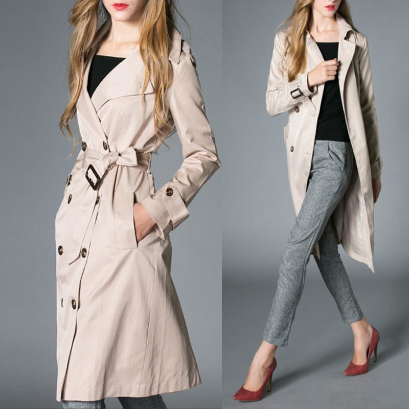 zanzea neu damen winterjacke lang mantel tunika herbst parka trenchcoat jacke ebay. Black Bedroom Furniture Sets. Home Design Ideas