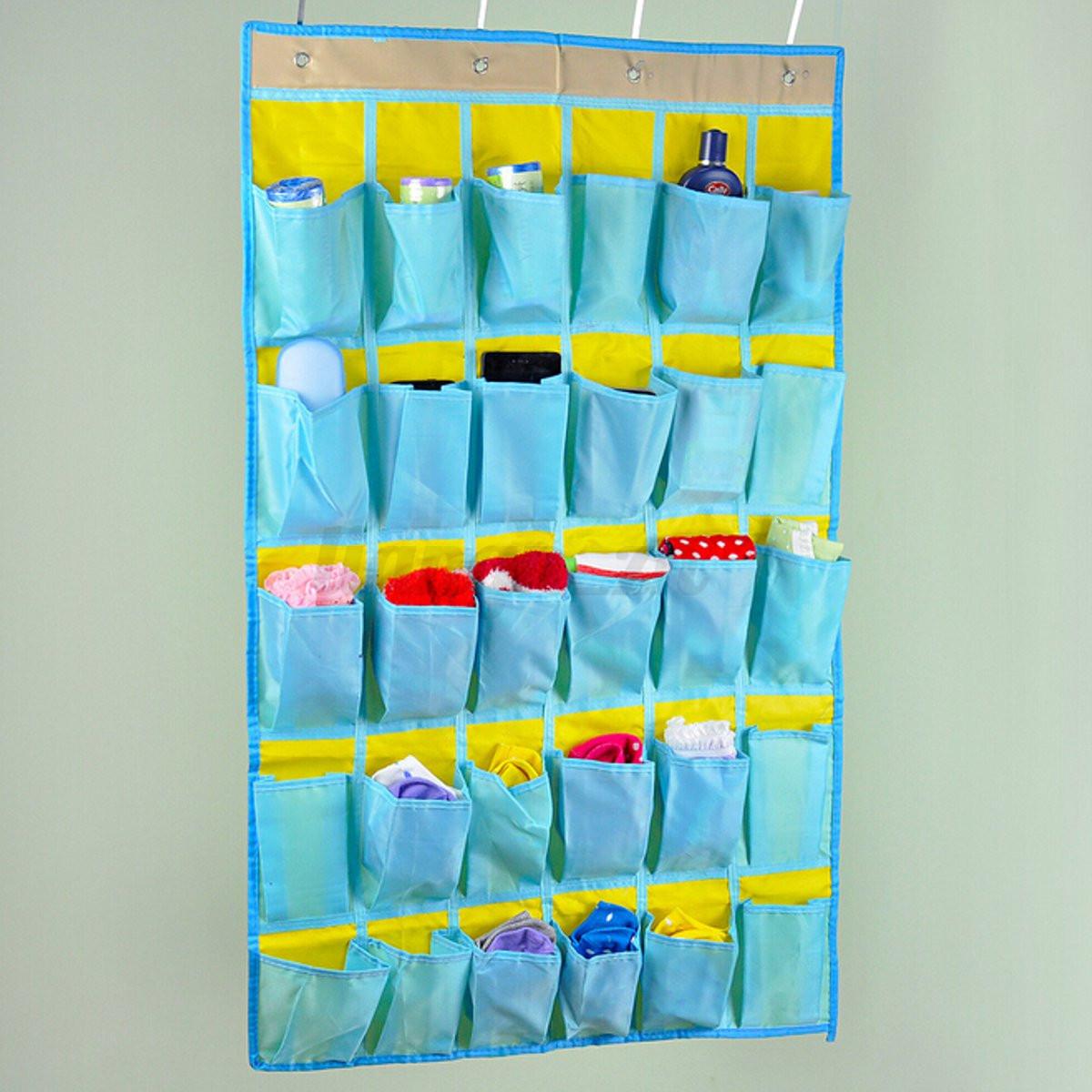 Rangement chaussures poche de range suspendre sac mural for Poche de rangement mural