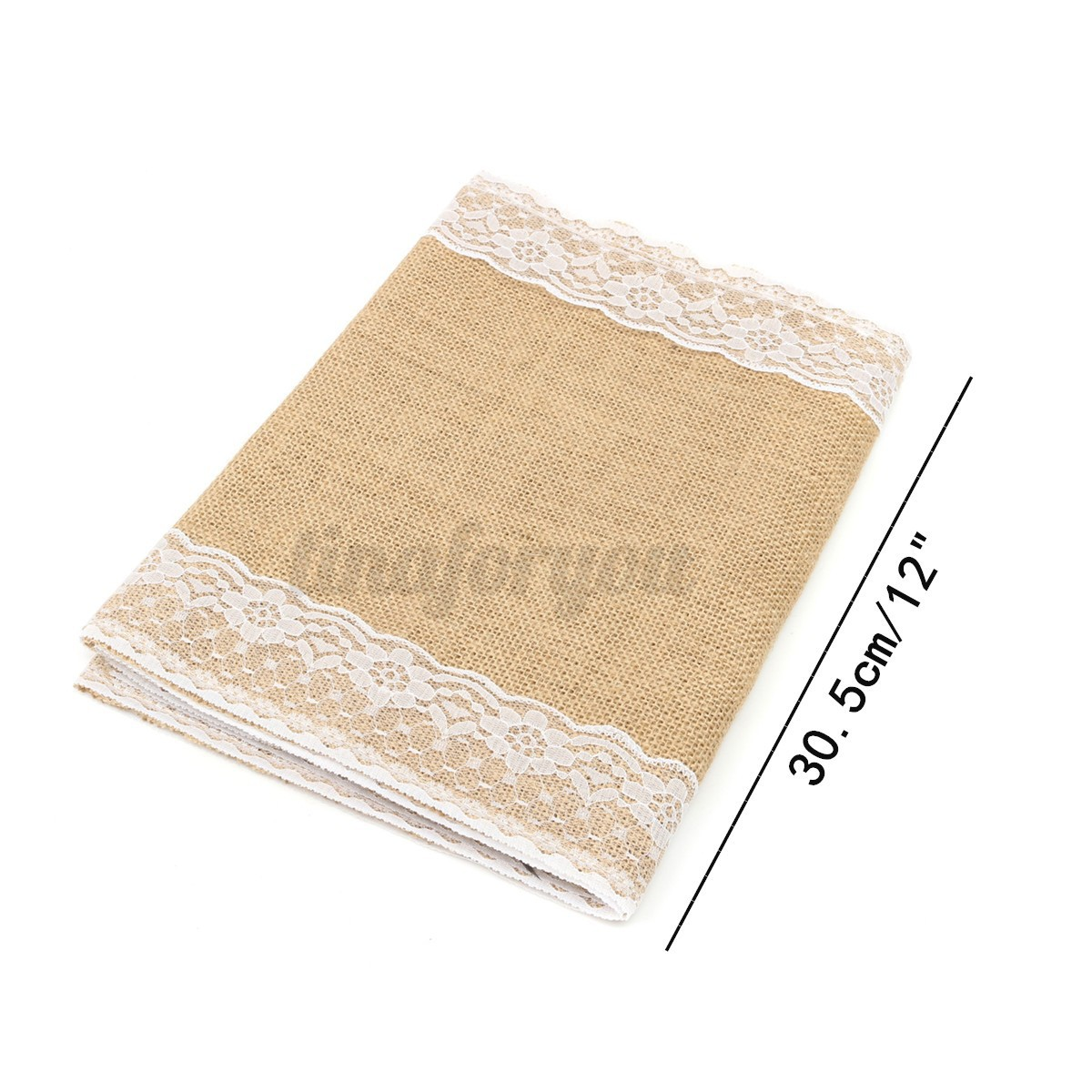Chemin de table toile de jute naturel car interior design - Chemin de table toile de jute ...