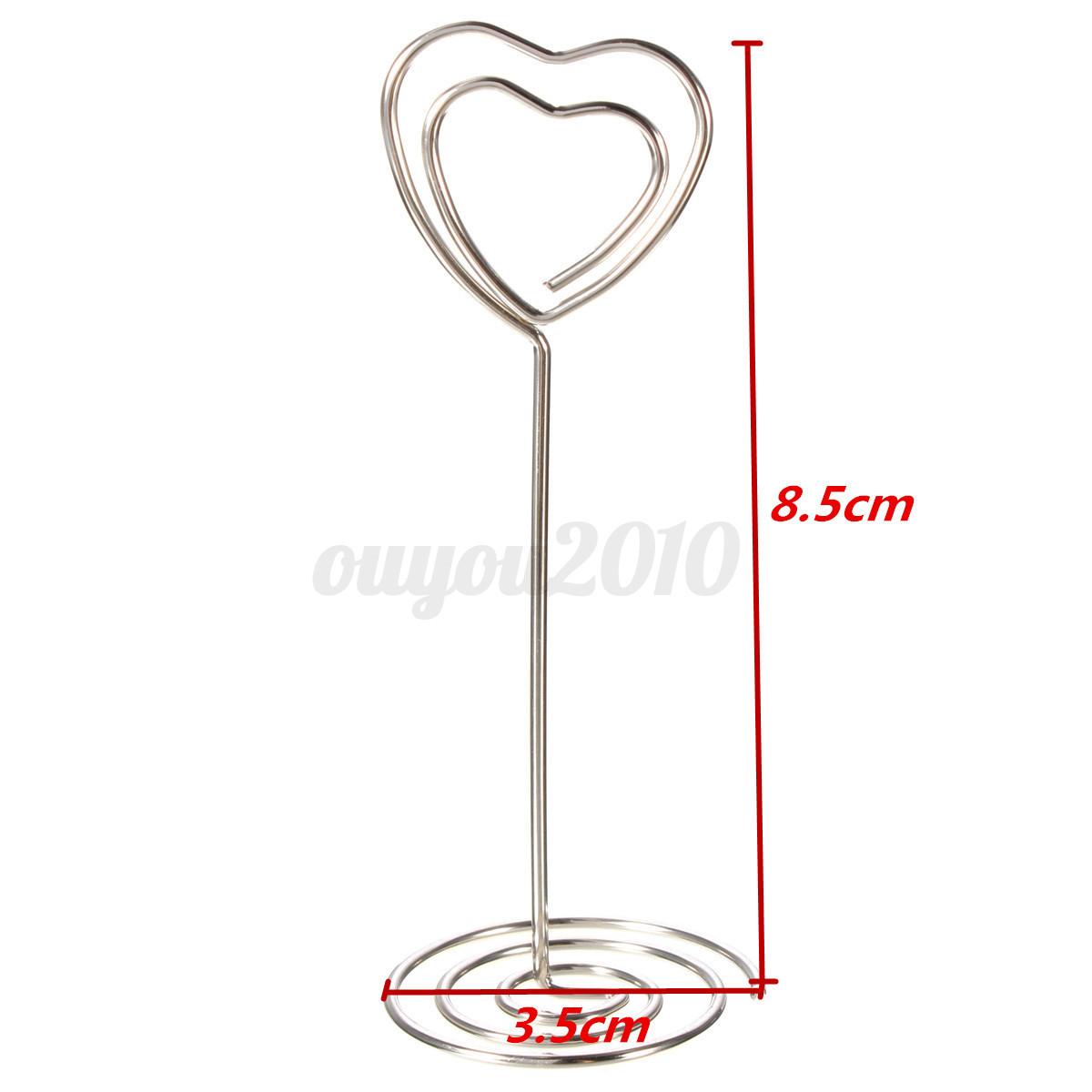 2pcs pince marque place porte nom carte mariage table de for Decoration porte nom table