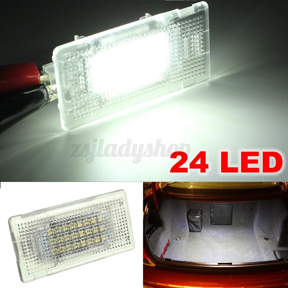 24 LED Interior Light Footwell Trunk Boot Glove Box Lamp For BMW E36 E38 E39 E46